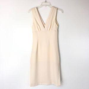 BCBGeneration | Sheath White Fitted Dress